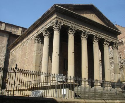 Temple Romà de la ciutat de Vic