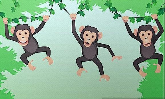 cuadros-en-lienzo-chimpance-dibujos-animados.jpg